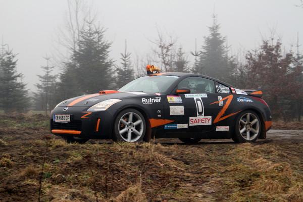Harald Ruiner Schneerosen-Rallye Nissan Z350 Klasse R-GT