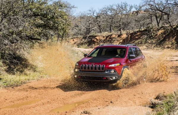 Jeep Cherokee Trailhawk Schlamm