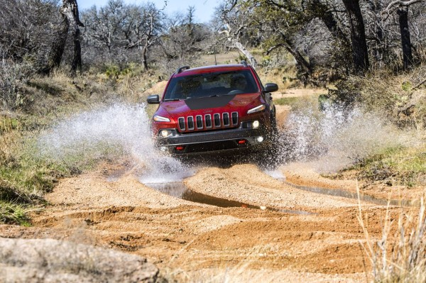 Jeep Cherokee Trailhawk Wasser Watttiefe Durchfahrt