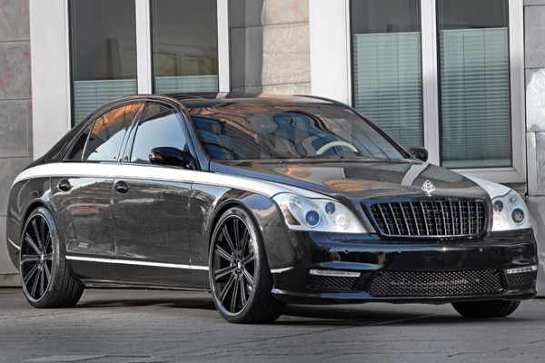 Maybach 57S Tuning von Knight Luxury