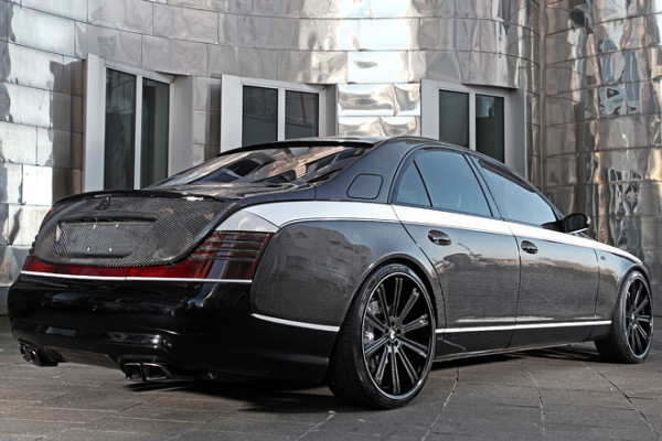 Sir Maybach 57S Knight Luxury Heck