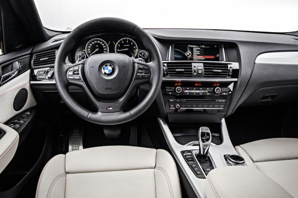 BMW X4 Innenraum