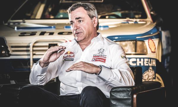 Carlos Sainz Peugeot 405  Rallye Dakar
