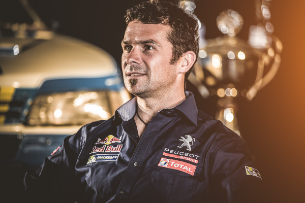 Cyril Despres Peugeot 405 Rallye Dakar