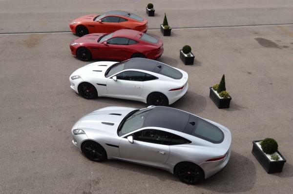 Jaguar F-Type R Coupé Reihe
