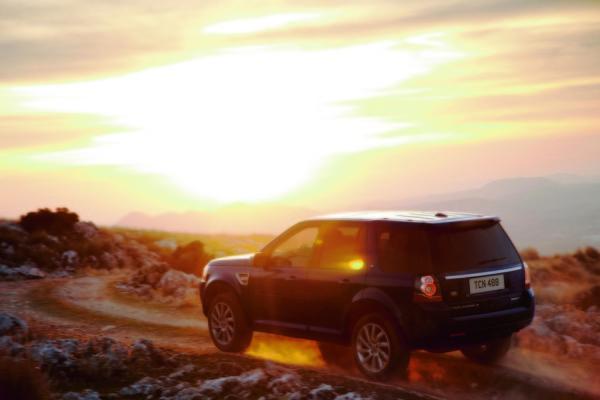 Land Rover Freelander Heck