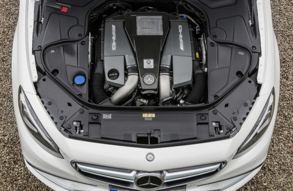 Mercedes-Benz S63 AMG Coupé Motor