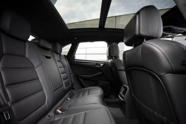 Porsche Macan Sitze Rückbank