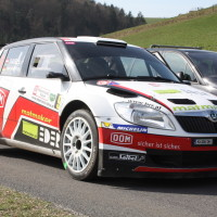 Rebenland Rallye 2014 Skoda Fabia S2000 Mario Saibel SP 9
