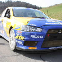 Rebenland Rallye 2014 Mitsubishi Lancer EVO X Hermann Gaßner SP9