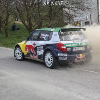Rebenland Rallye 2014 Skoda Fabia S2000 Raimund Baumschlager SP6