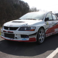 Rebenland Rallye 2014 Mitsubishi Lancer EVO IX Josef Denes SP9
