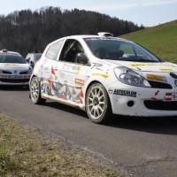 Rebenland Rallye 2014 Renault Clio R3 Heinz Leitgeb Jasmin Leitgeb SP9
