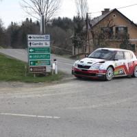 Rebenland Rallye 2014 Skoda Fabia S2000 Mario Saibel SP 6
