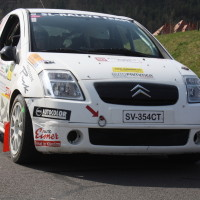 Rebenland Rallye 2014 Citroen C2R2 Andreas Sumann SP9