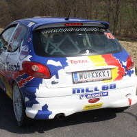 Rebenland Rallye 2014 Peugeot 206 RC Alfred Leitner SP9