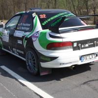 Rebenland Rallye 2014 Subaru Impreza Manuel Feuchtner SP9