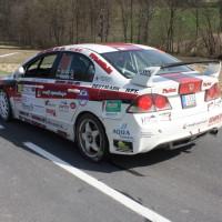 Rebenland Rallye 2014 Honda Civic FD2 Csaba Juhasz SP9