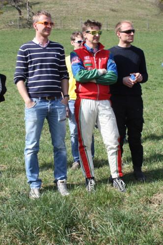 Rebenland Rallye 2014 Andreas Aigner Michael Böhm Hannes Danzinger Zuseher SP9