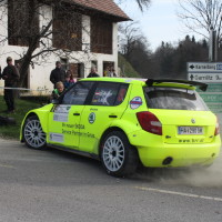 Rebenland Rallye 2014 Skoda Fabia S2000 Chris Brugger SP 6 Dreher Verbremser