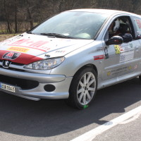 Rebenland Rallye 2014 Peugeot 206 RC Jakub Voldrich SP9