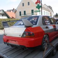 Rebenland Rallye 2014 Mitsubishi Lancer EVO IX R4 Andreas Mörtl