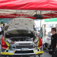 Rebenland Rallye 2014 Ford Fiesta R5 Grössing Gerwald Service