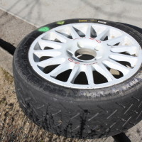 Rebenland Rallye 2014 Reifen Felge