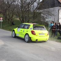 Rebenland Rallye 2014 Skoda Fabia S2000 Chris Brugger SP 6