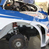 Rebenland Rallye 2014 Peugeot 207 S2000 Walter Mayer