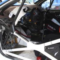 Rebenland Rallye 2014 Peugeot 207 S2000 Walter Mayer Service Innenraum
