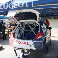 Rebenland Rallye 2014 Peugeot 207 R3T Alois Handler Service