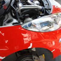 Rebenland Rallye 2014 Peugeot 207 R3T Alois Handler Service Motor