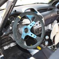 Rebenland Rallye 2014 Peugeot 206 RC Alfred Leitner Service Innenraum Cockpit