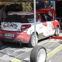 Rebenland Rallye 2014 Citroen DS3 R1 Tomas Guryca Service