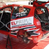 Rebenland Rallye 2014 Citroen C2 R2 Klemen Popit Service