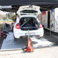 Rebenland Rallye 2014 Renault Clio R3 Kristof Klausz Service