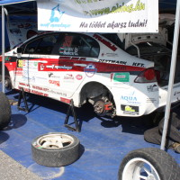 Rebenland Rallye 2014 Honda Civic FD2 Csaba Juhasz Service