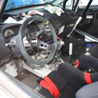 Rebenland Rallye 2014 Honda Civic FD2 Csaba Juhasz Service Cockpit Innenraum