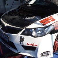 Rebenland Rallye 2014 Honda Civic FD2 Csaba Juhasz Service Motor