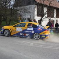 Rebenland Rallye 2014 Mitsubihsi Lancer EVO X Hermann Gaßner SP 6