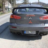 Rebenland Rallye 2014 Mitsubishi Lancer EVO X