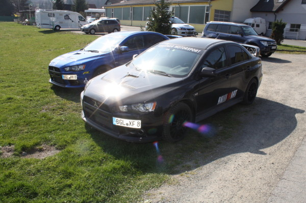 Mitsubishi Lancer EVO und Subaru Impreza WRX STI