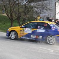 Rebenland Rallye 2014 Mitsubihsi Lancer EVO IX Asja Zupanc Blanka Kacin SP 6