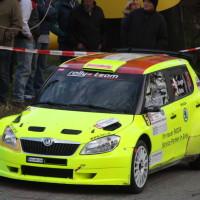 Rebenland Rallye 2014 Skoda Fabia S2000 Chris Brugger SP 12