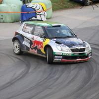 Rebenland Rallye 2014 Skoda Fabia S2000 Raimund Baumschlager Thomas Zeltner SP 12