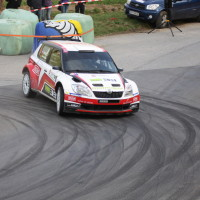 Rebenland Rallye 2014 Skoda Fabia S2000 Mario Saibel SP 12