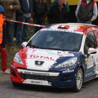 Rebenland Rallye 2014 Peugeot 207 R3T Alois Handler SP 12