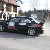 Rebenland Rallye 2014 Vorausauto Safety Car Mitsubishi Lancer EVO SP 6 Poharnigberg