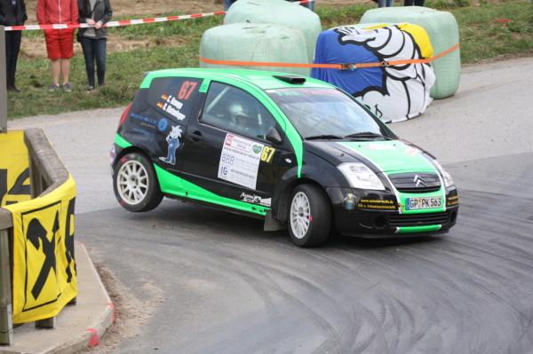 Rebenland Rallye 2014 Citroen C2 Christian Knaupp SP 12